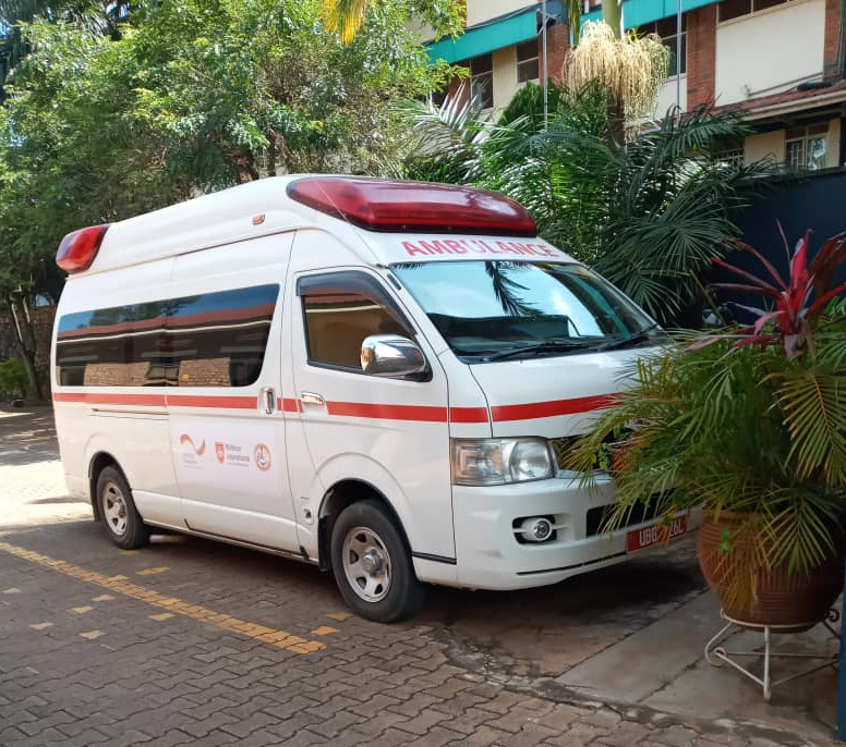 COVID-19 Preparedness -Lubaga Training School Receives An Ambulance From German Donors